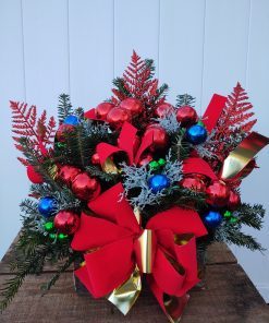 Holiday Remembrance Logs and Pots